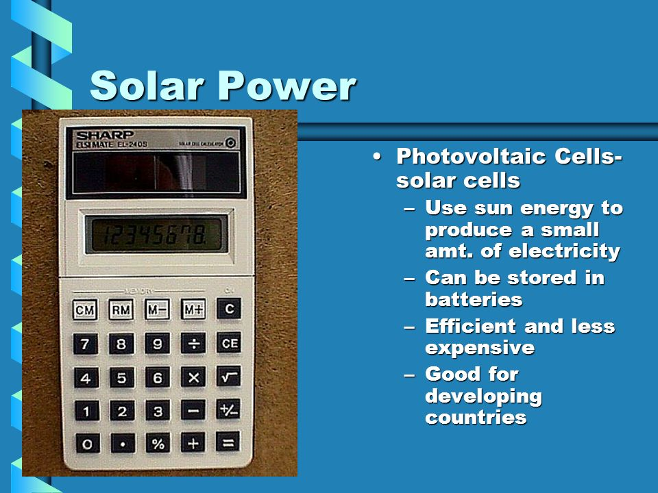 Solar Power Photovoltaic Cells- solar cells