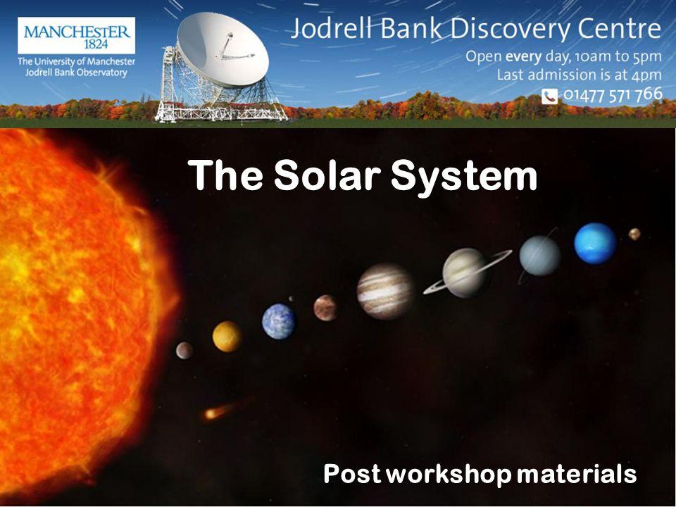 Post workshop materials