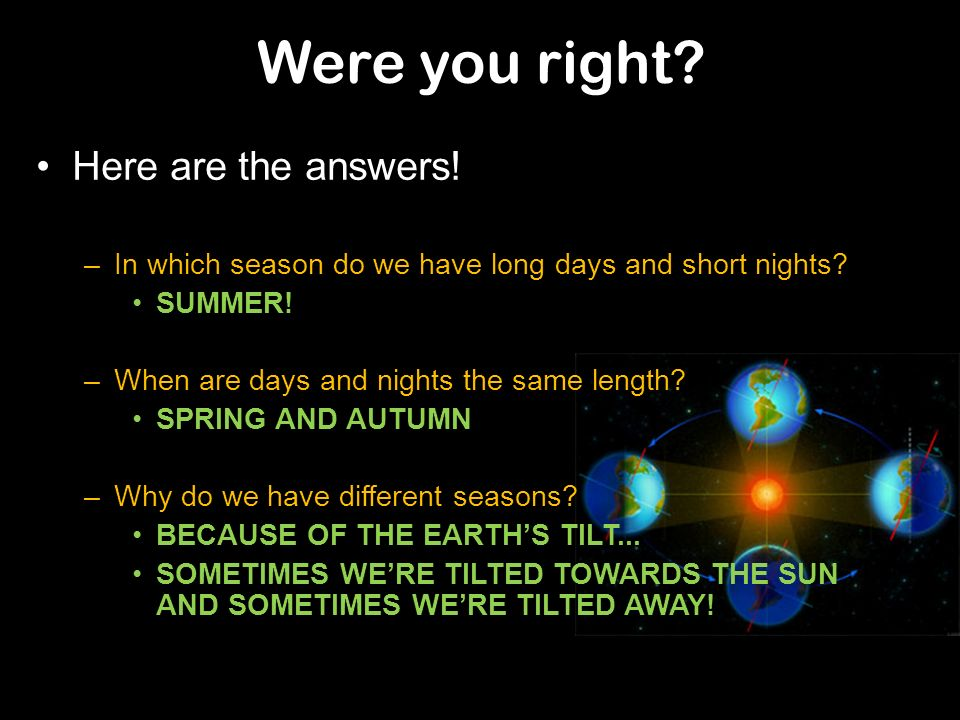 Were you right Here are the answers!