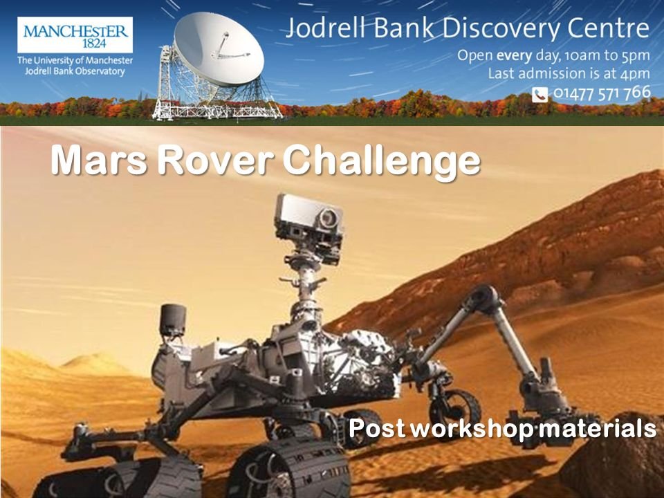 mars rover challenge - photo #41