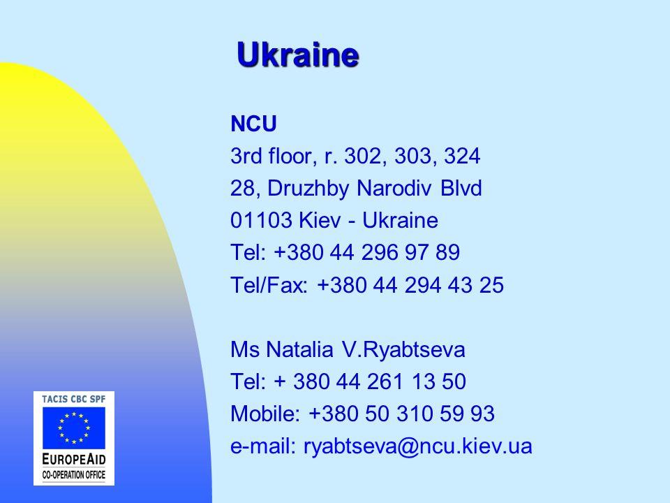Ukraine NCU 3rd floor, r. 302, 303, 324 28, Druzhby Narodiv Blvd