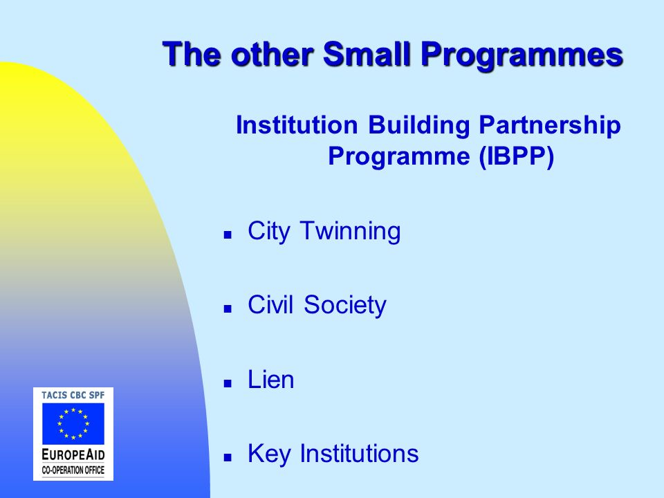 The other Small Programmes
