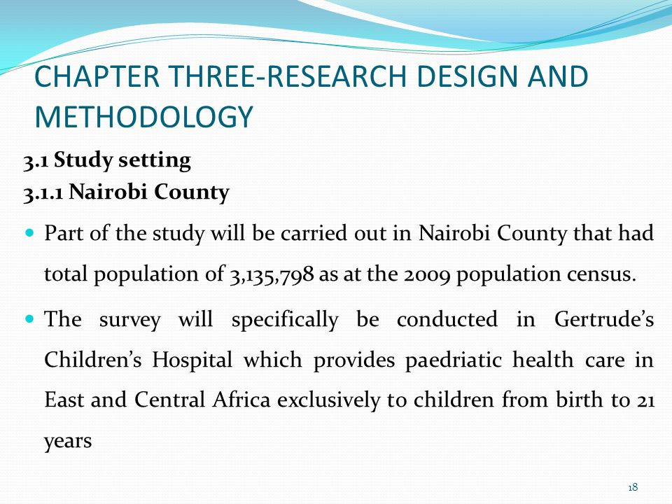 chapter 3 research design and methodology 70 chapter 3 research design and methodology 31 introduction this chapter describes the research design and methodology used in the study, including.