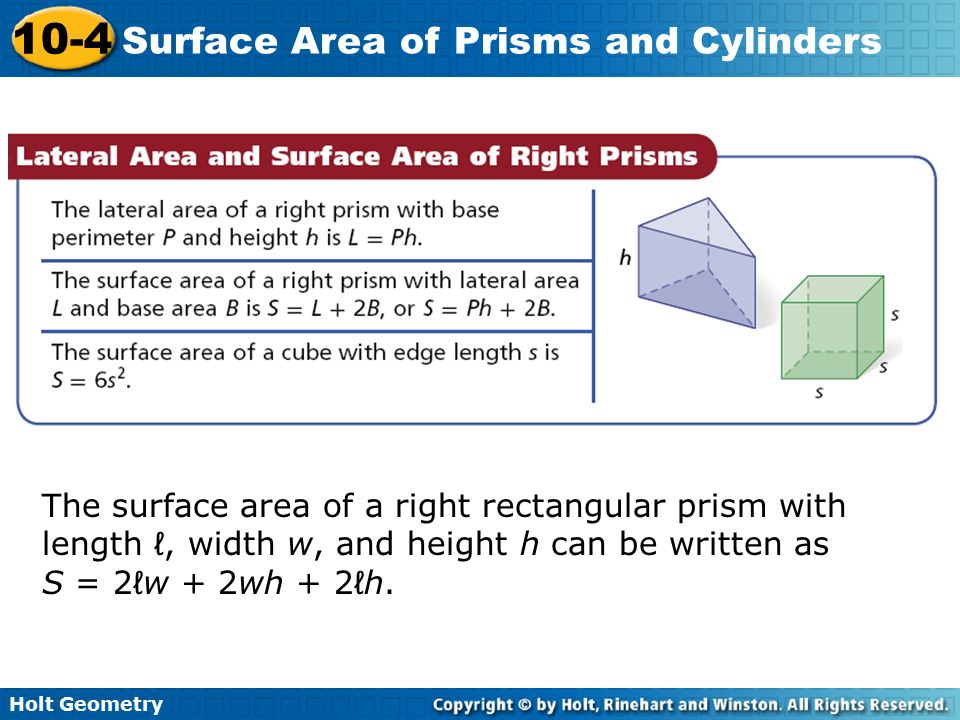 Surface area of a rectangular prism worksheet pdf