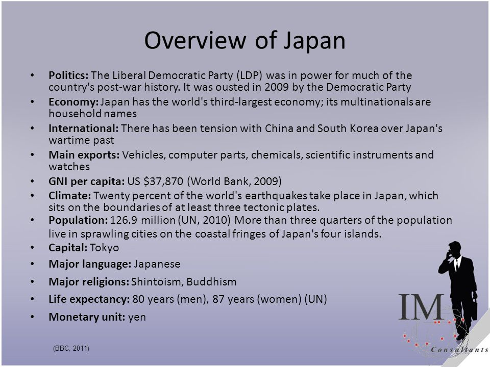 Overview of Japan