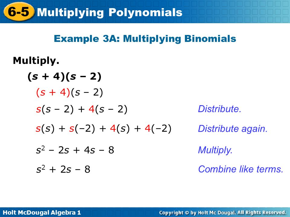 Multiplying Polynomials ppt video online download – Multiplying Binomials Worksheets