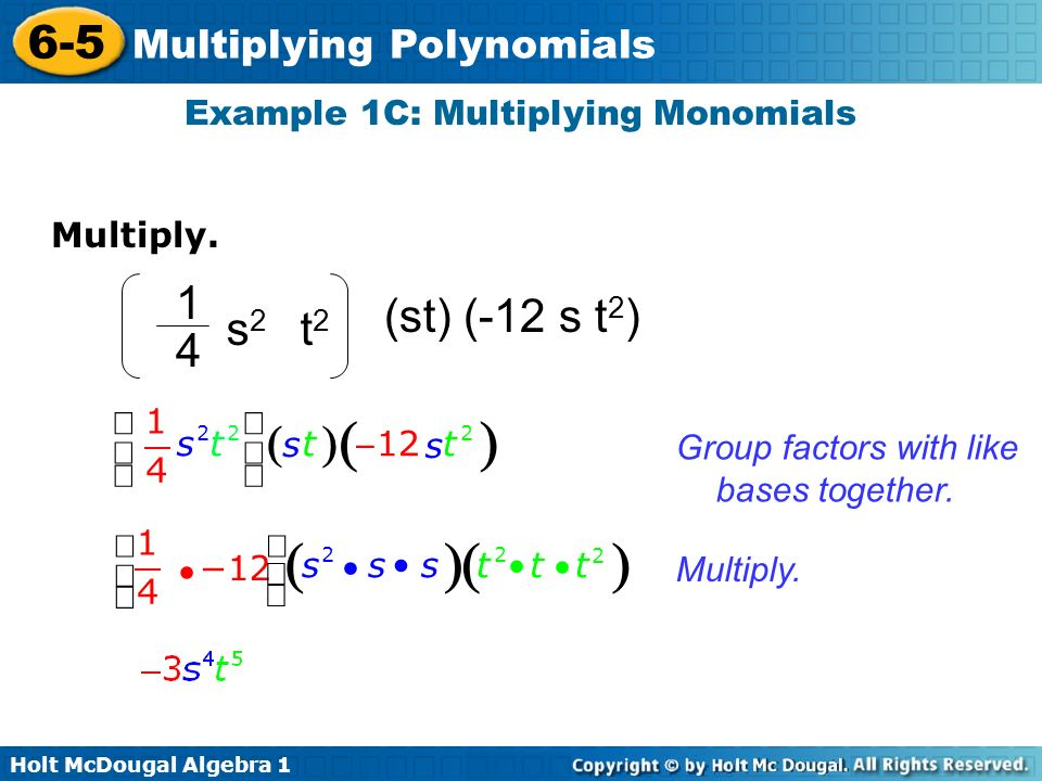 Multiplying Polynomials ppt download – Multiplying Polynomials by Monomials Worksheet