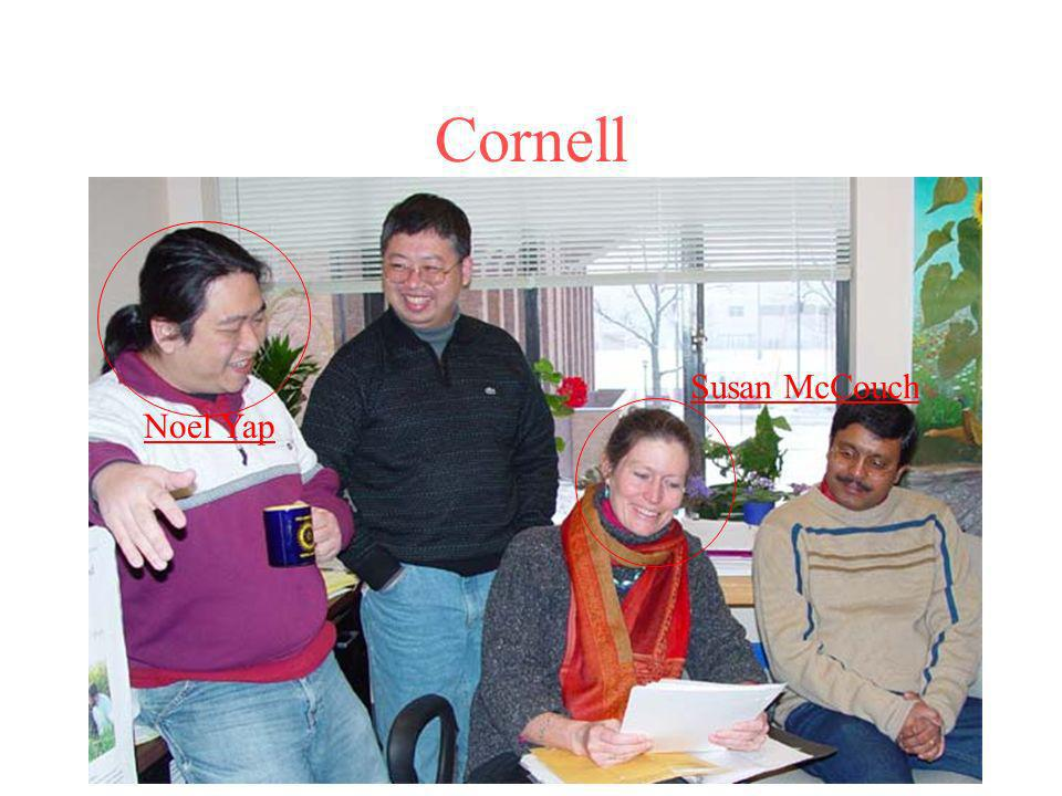 Cornell Susan McCouch Noel Yap