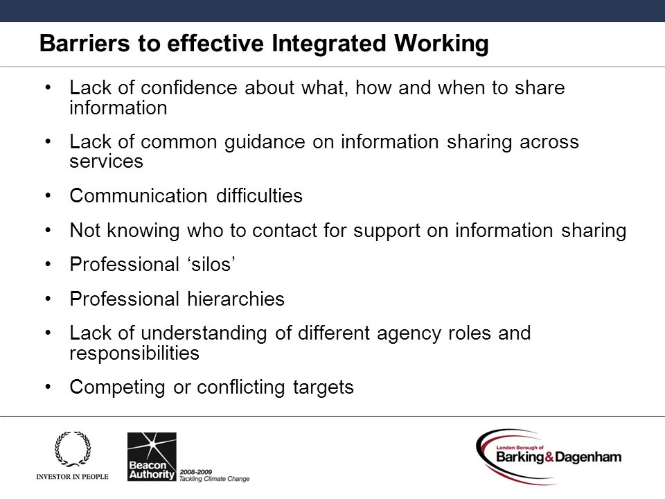 3 4 indentify sources of information and support or services to enable more effective communication 3 part 1 – understand the barriers to change 7 part 2 – identify the  to  develop a successful strategy for change, you need to  communication of the  results  information, support and instruction in line with current best practice   feedback on audit is more effective in changing practice when it is.