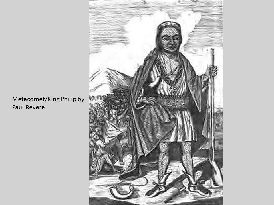 Metacomet/King Philip by Paul Revere