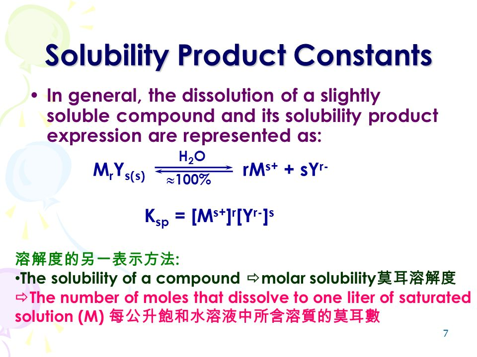 determination of a solubility product constant Do not, the value of the solubility product constant lies between q values with precipitates and q values without precipitates the most precise value for ksp is given as: qminimum with pbi2  ksp  qmaximum without pbi2 the value for ksp is determined with an uncertainty level equal to the difference of the two q values.