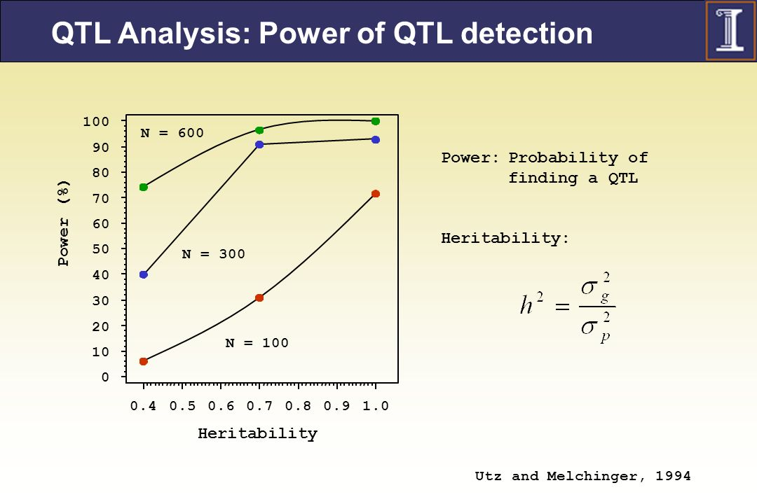 QTL Analysis: Power of QTL detection