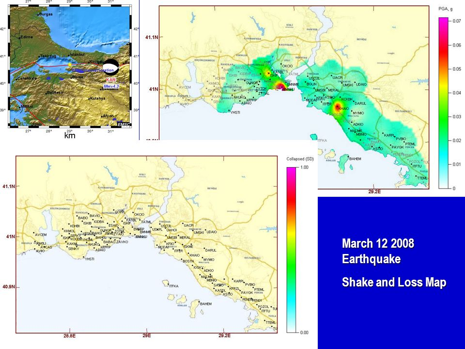 March 12 2008 Earthquake Shake and Loss Map 22