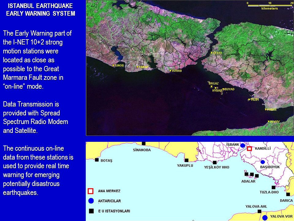 ISTANBUL EARTHQUAKE EARLY WARNING SYSTEM