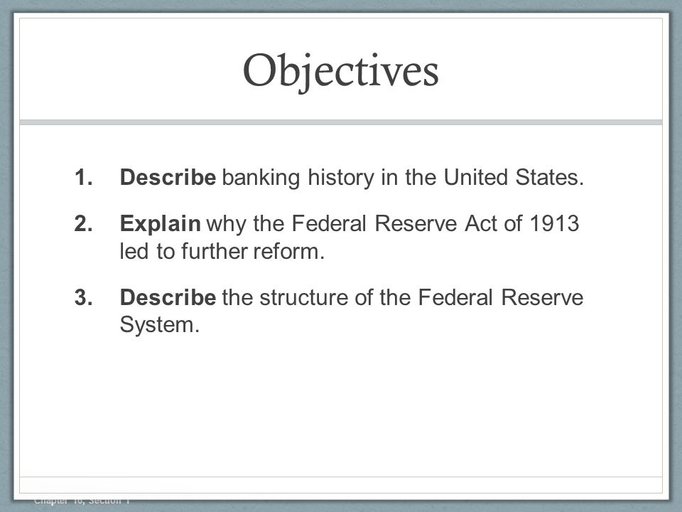 an analysis of the monetary policy and the federal reserve in the united states 3 most central banks around the world today including the federal reserve in the united states choose to conduct monetary policy with reference to a target for the.