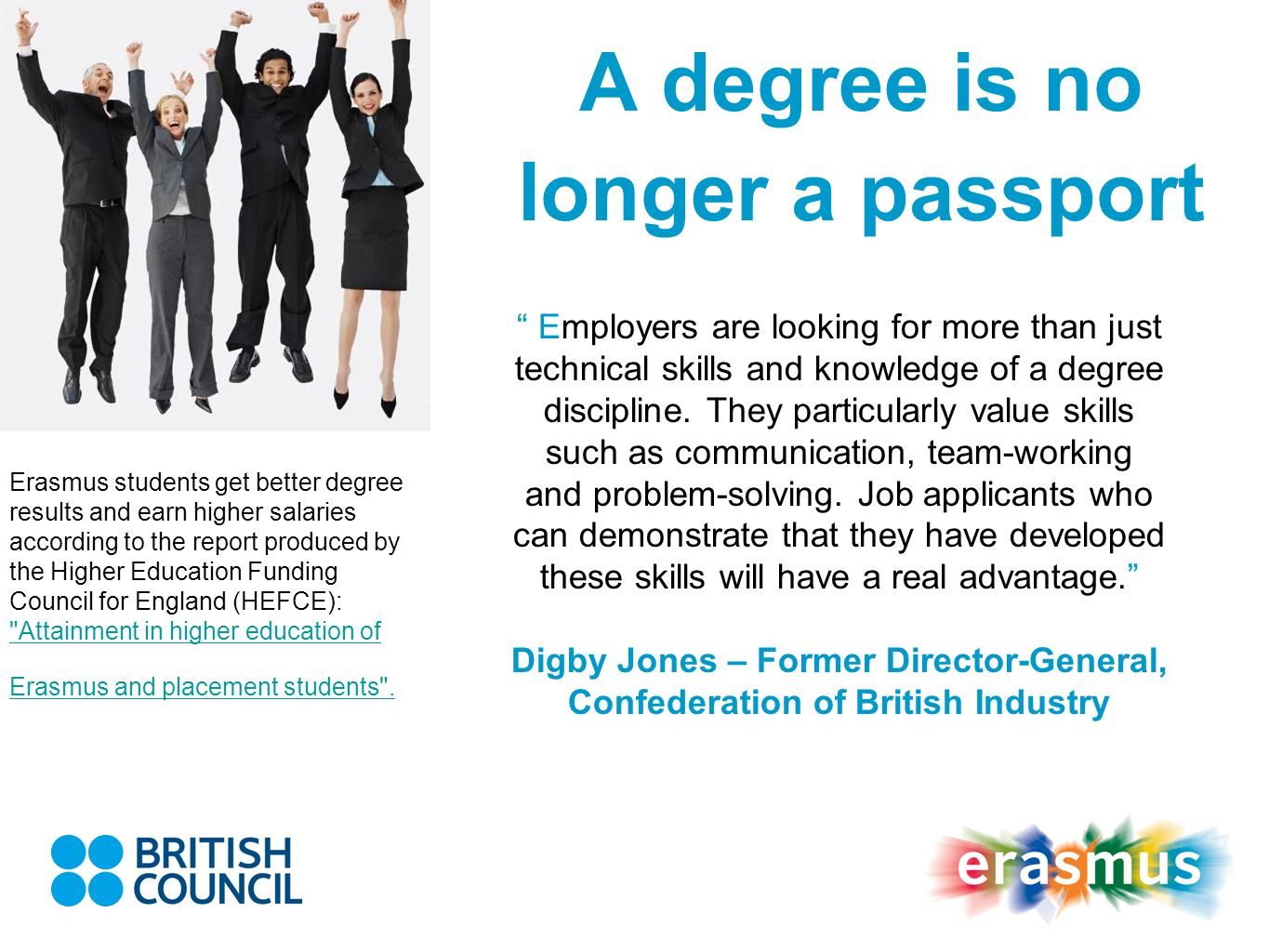 A degree is no longer a passport