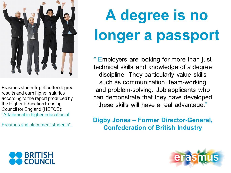 A degree is no longer a passport