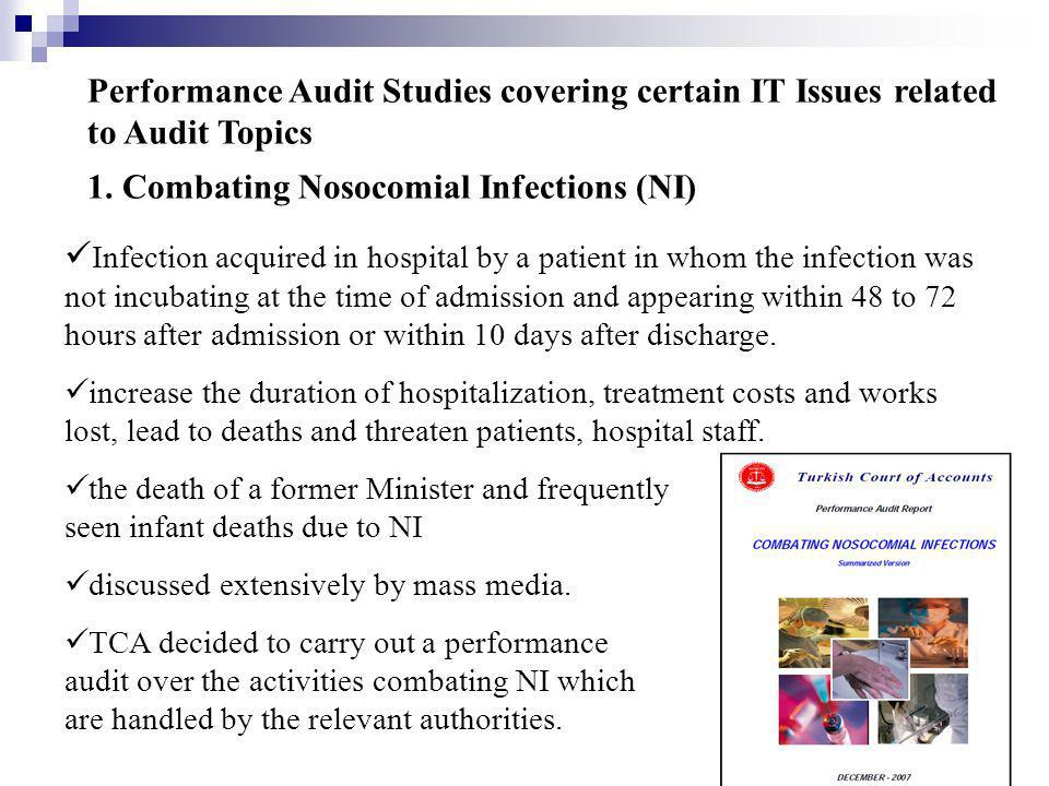 1. Combating Nosocomial Infections (NI)