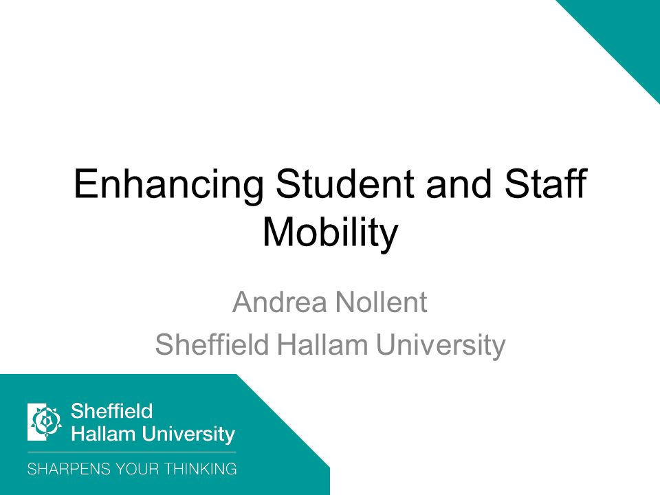 Enhancing Student and Staff Mobility