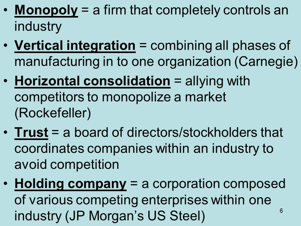 Context The Age of Monopolies, Trusts, and Big Labor - ppt download