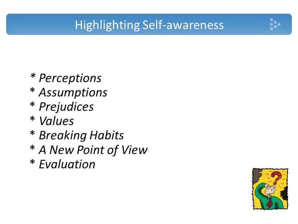 Highlighting Self-awareness