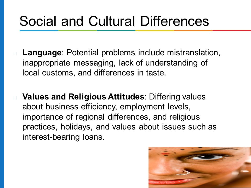 the relative importance of cultural differences National cultural differences and multinational  probably the most important cultural dimension identified in hofstede's  relative preference for the.