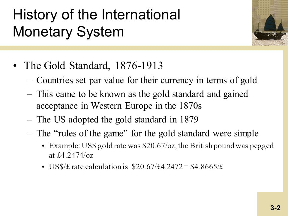 history of the international monetary system The role of the international monetary system in financialization jane d'arista financial markets center paper prepared for the political economy research institute (peri) conference on.