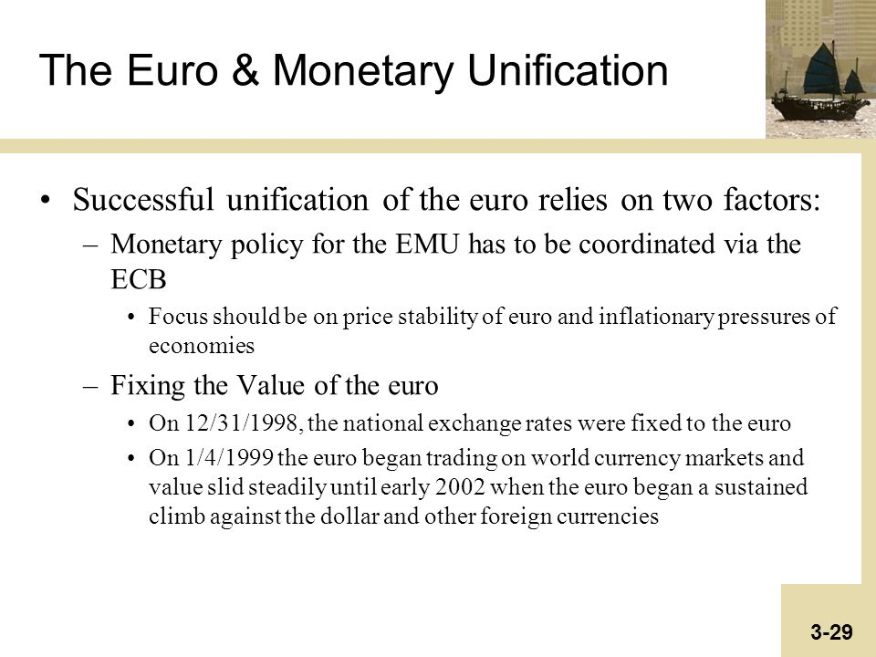 an analysis of the euro in currencies and monetary systems of the world What is the extent of currency diversification in the international monetary system how has it evolved over time in this paper, we quantify the degree of currency diversification using regression methods of currency co-movements to determine the extent to which national currencies across the world.