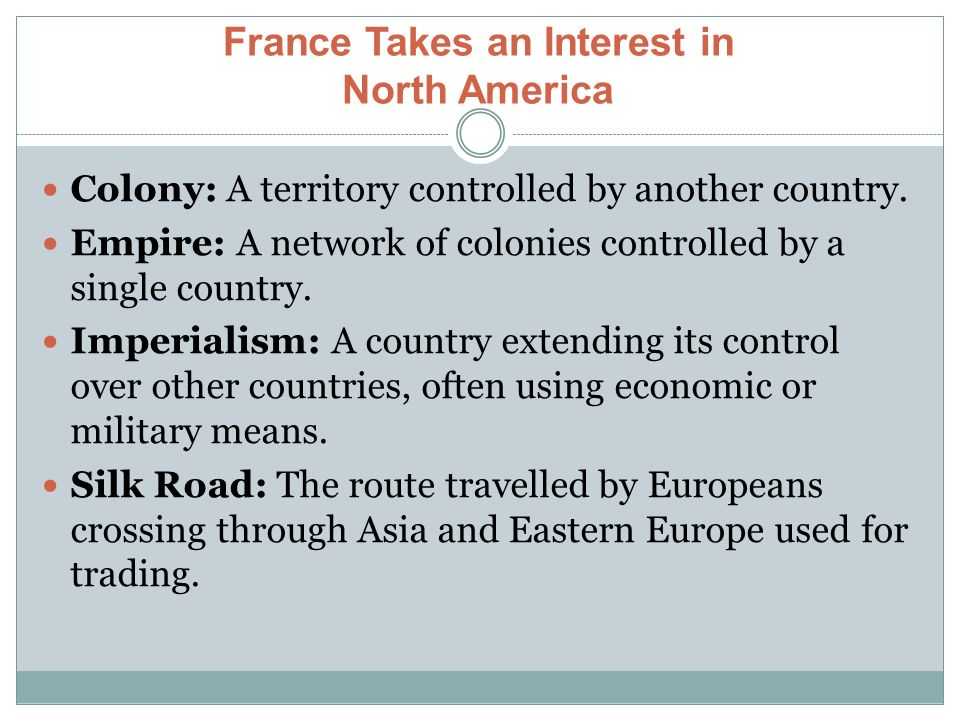 imperialism in north america Since the colonial era marked the beginning of imperialism in north america, an intricate web of power and domination have formed leaving indigenous communities in the grip of its economic philosophy.
