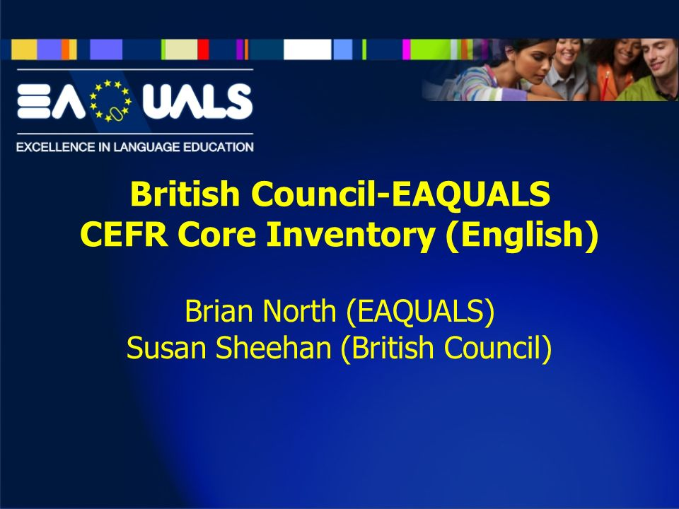 British Council-EAQUALS CEFR Core Inventory (English)