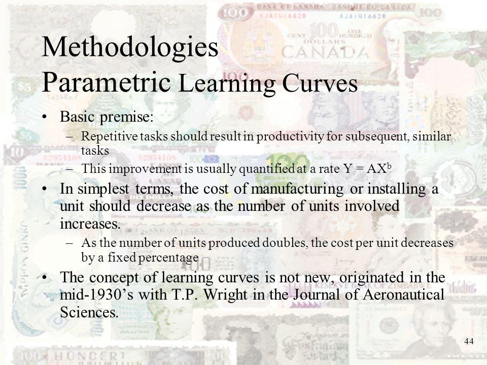 Methodologies Parametric Learning Curves