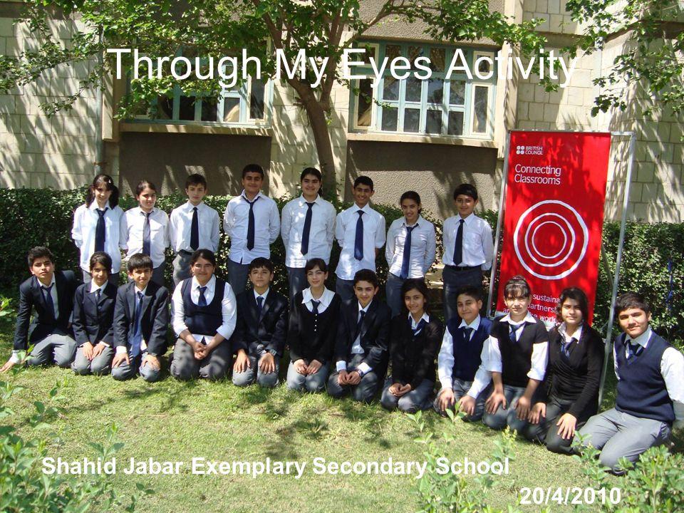 Through My Eyes Activity