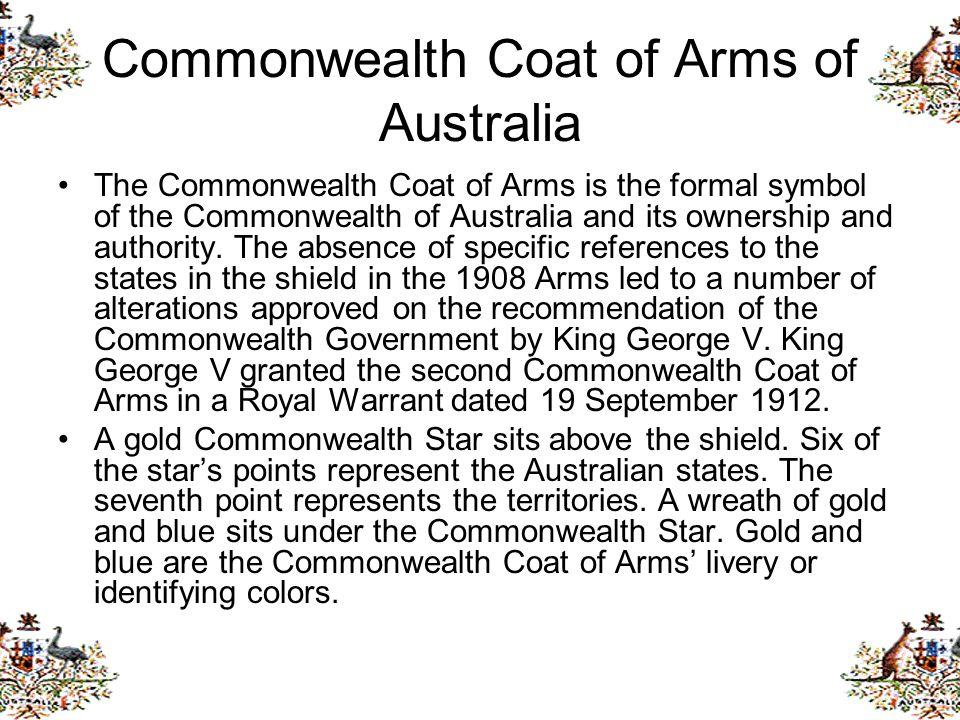 Commonwealth Coat of Arms of Australia