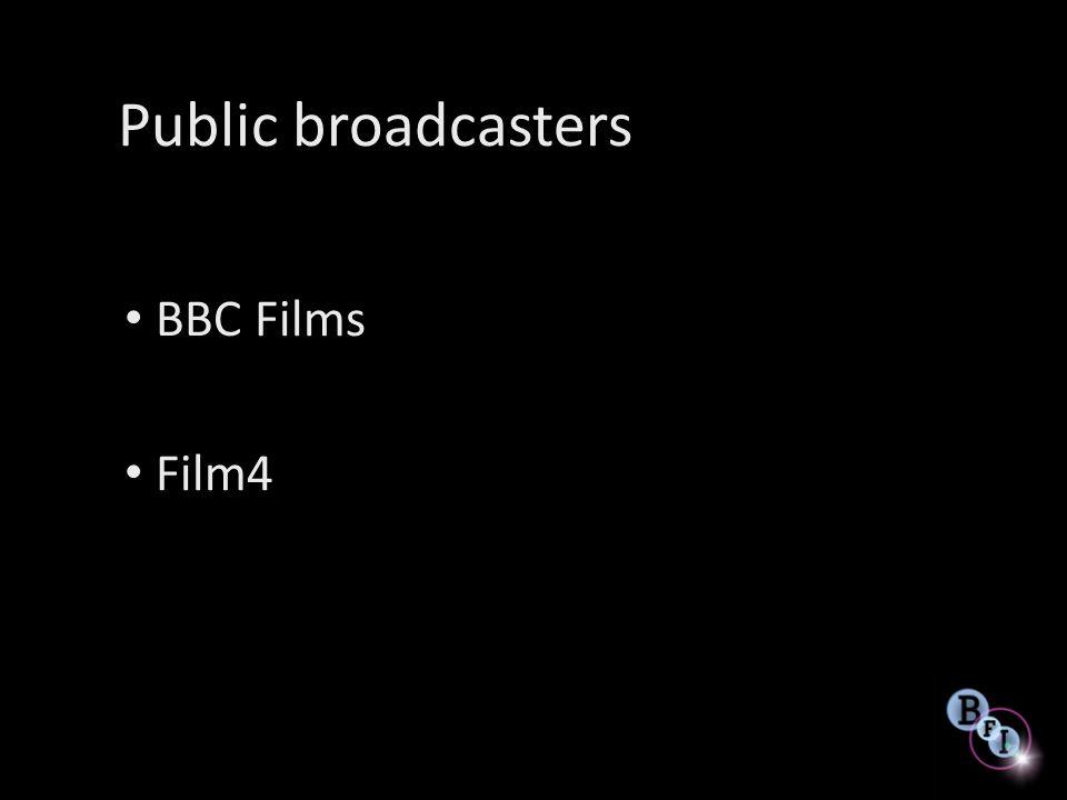 Public broadcasters BBC Films Film4