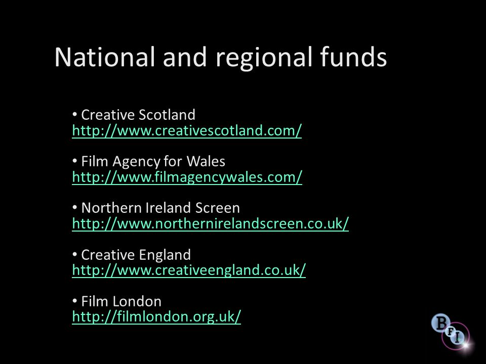 National and regional funds