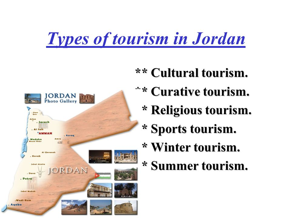 Types of tourism in Jordan