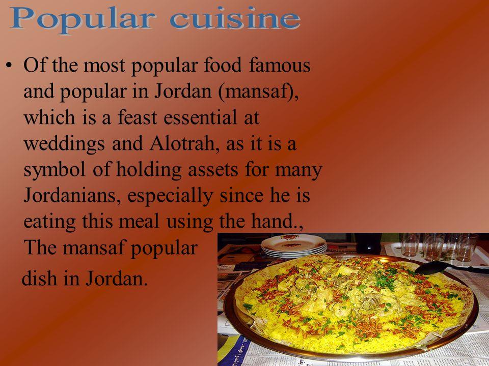 Popular cuisine