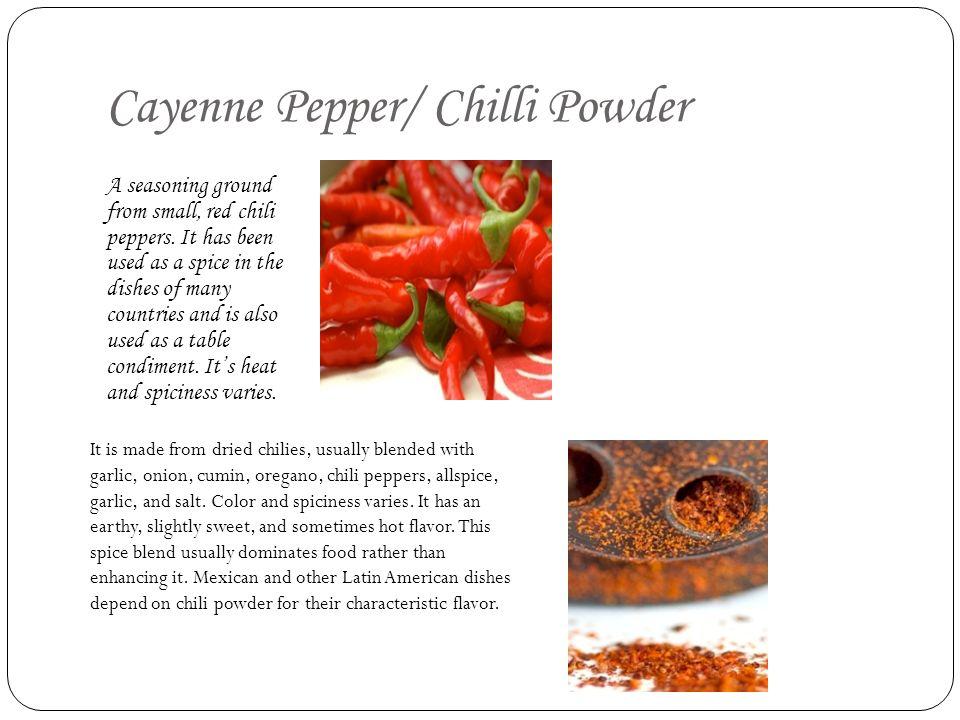 Cayenne Pepper/ Chilli Powder