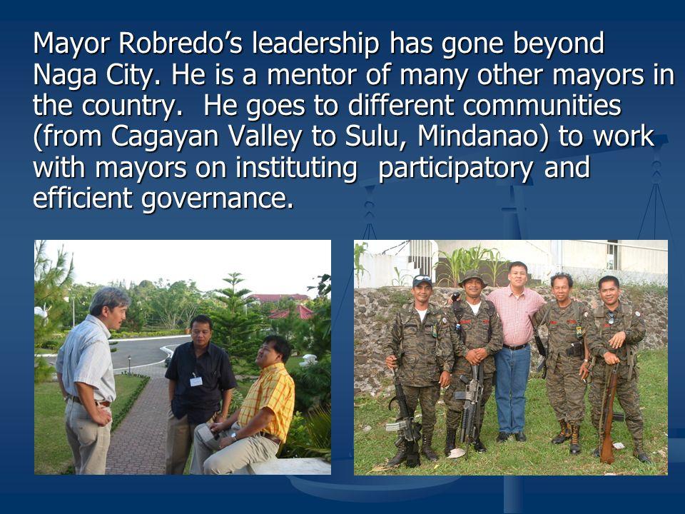 Mayor Robredo's leadership has gone beyond Naga City