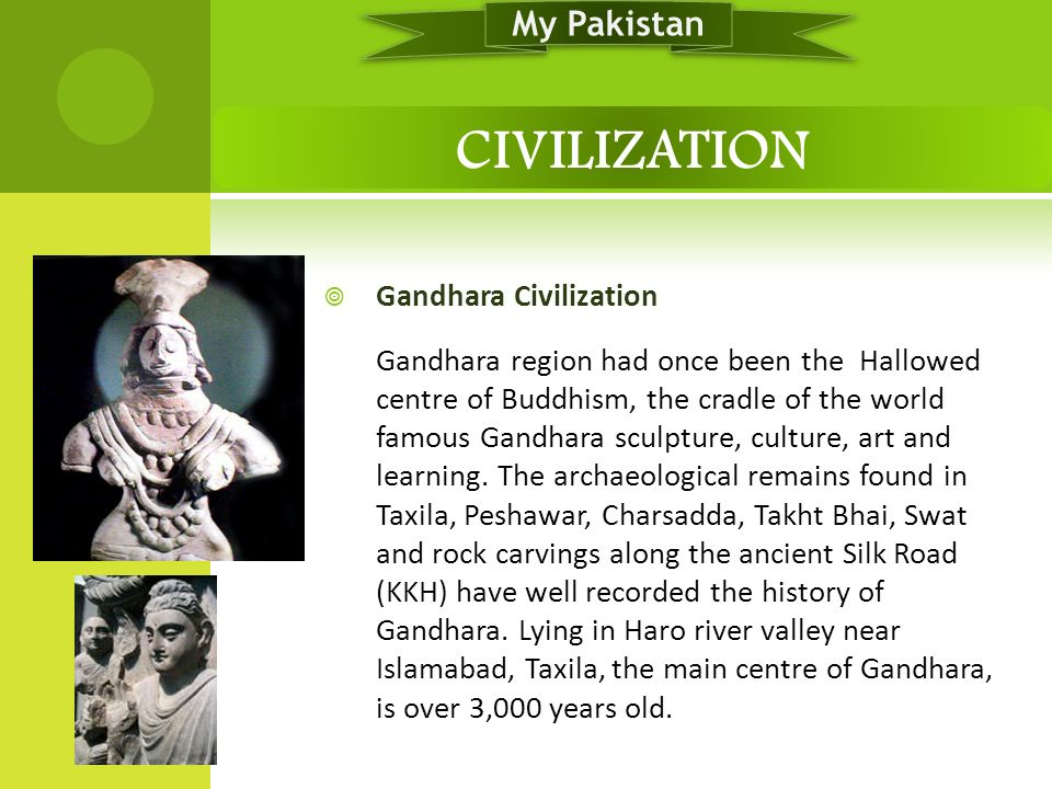 CIVILIZATION My Pakistan Gandhara Civilization