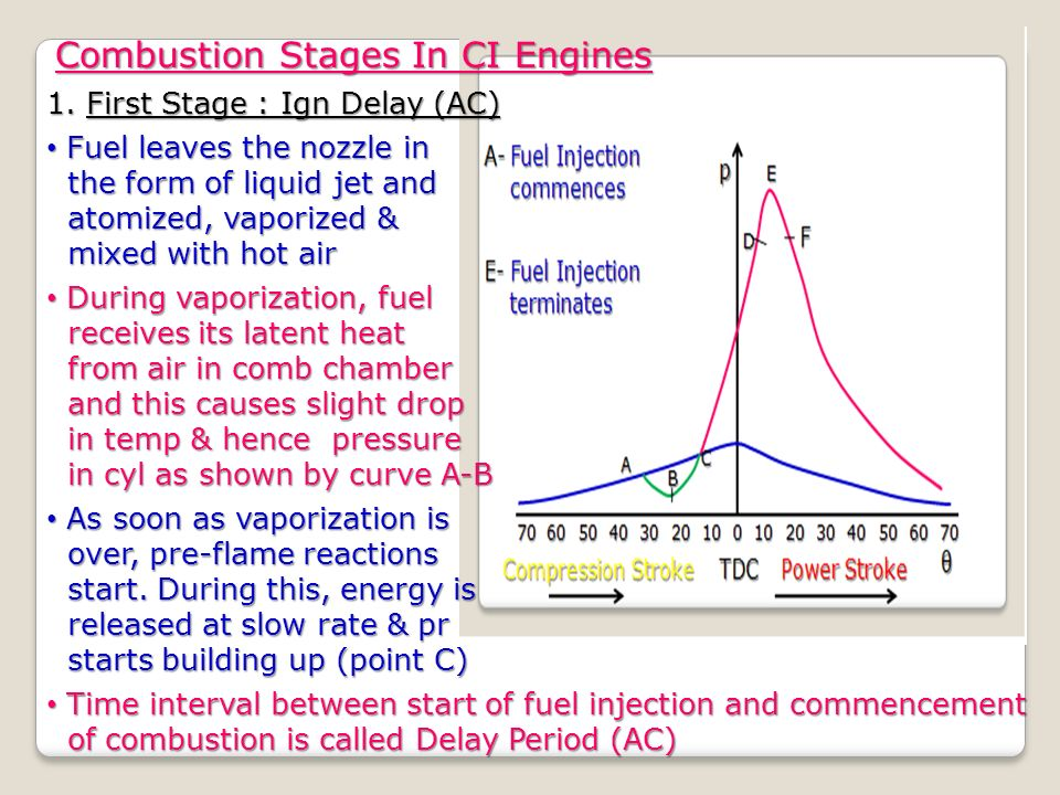 combustion in ci engines While there are many similarities between spark ignition and compression ignition engines and compression ignition (ci) engines is the combustion engines.