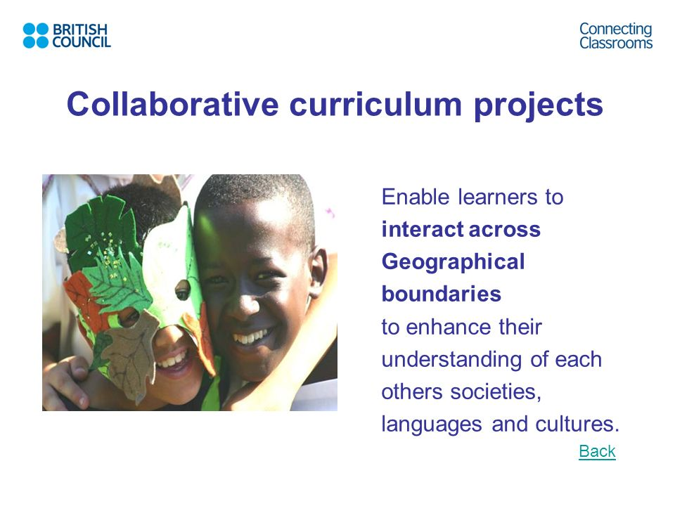 Collaborative curriculum projects