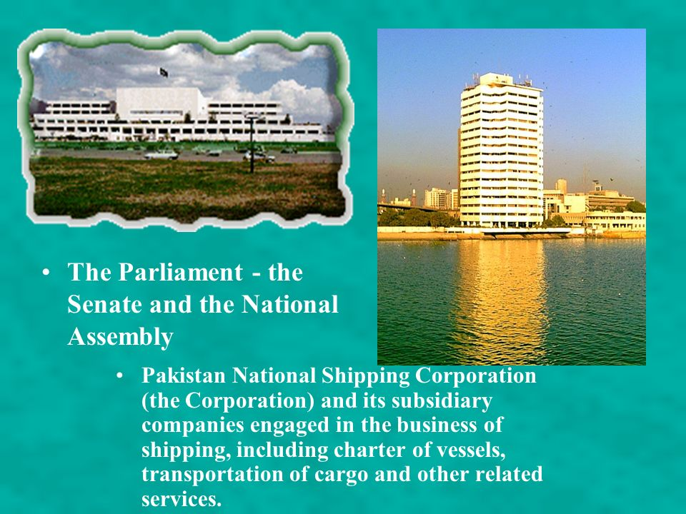 The Parliament - the Senate and the National Assembly