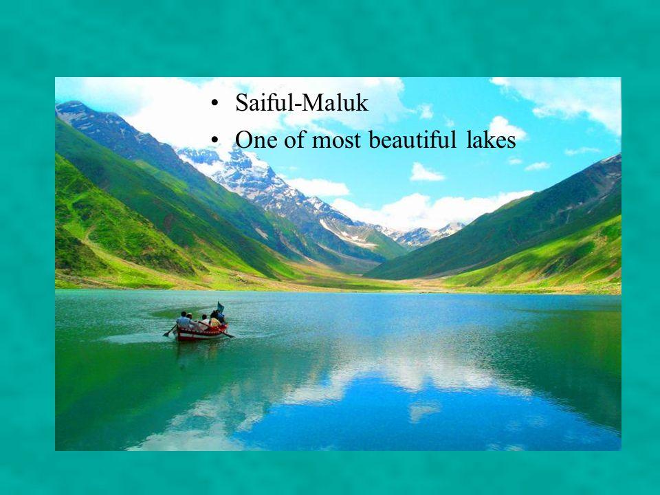 Saiful-Maluk One of most beautiful lakes