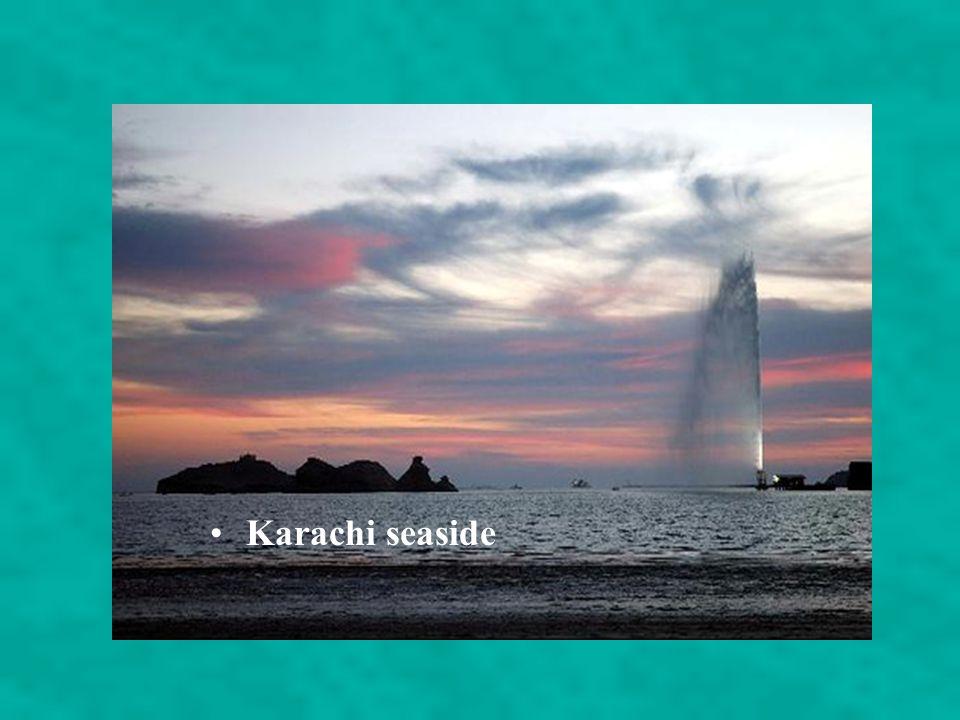 Karachi seaside