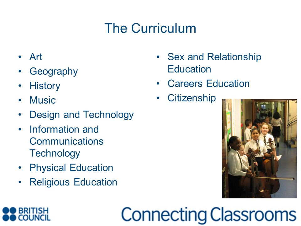 The Curriculum Art Geography History Music Design and Technology
