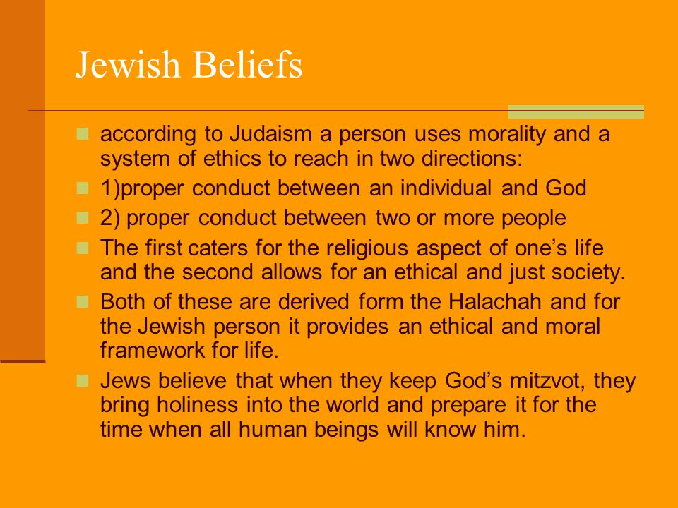 An analysis of judaism a religion of the jewish people