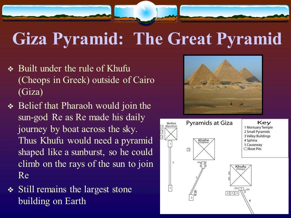 Giza Pyramid: The Great Pyramid