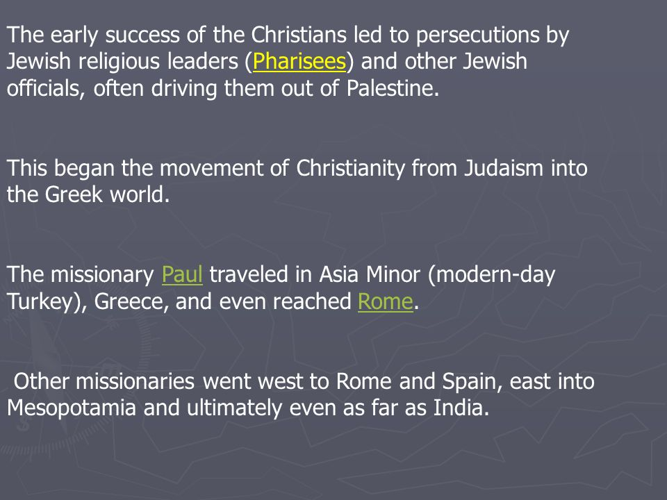 the early christians and judaism The messiah: in early judaism and christianity ebook: magnus zetterholm: amazoncombr: loja kindle.