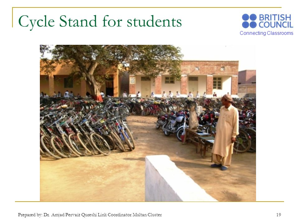 Cycle Stand for students